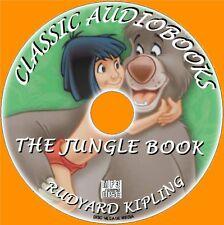 El libro de la selva RUDYARD KIPLING, MP3 CD Audiolibro Clásico Niños Novedosa