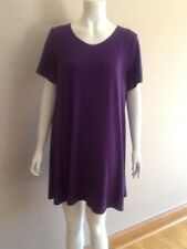 EVANS PURPLE  DRESS 22/24 BNWT RRP £23