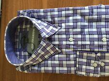 Johnston & Murphy Overlay Checked Shirt