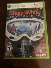 Shaun White Snowboarding Micorosoft Xbox 360