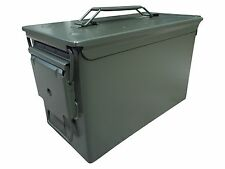 UNSTENCILED BRAND NEW MIL-SPEC 50 CAL AMMO CAN M2A1 5.56 EMPTY CANISTER