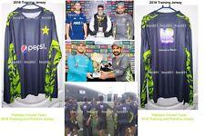 Pakistan Cricket New 2018 Practice Training Shirt T-Shirt Jersey Adults & Kids