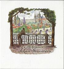 C. BENDA: Exlibris für Johan Souverein, Prag
