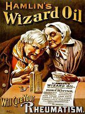 Pubblicità medica hamlins guidata OLIO reumatismi Drug USA Arte Poster Stampa lv216