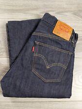 Levis's BIG E  501XX SELVEDGE RAW Edge Denim Jeans Rivets 31X32