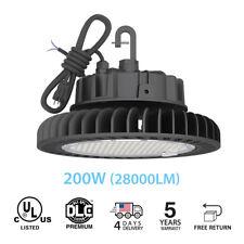 200w 4000k Ufo Led High Bay Warehouse Lights Fixture Lamp Factory Lighting