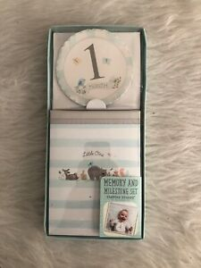 Baby Memory and Milestone Kit   The First Year   New
