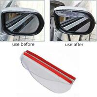 1 Pair Car Mirror The Rain Stop Driving On Rainy Accessories AUTO Rear view R6E9