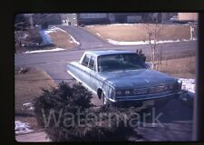 1972 kodachrome  Photo slide  Chrysler Car in drive way automobile