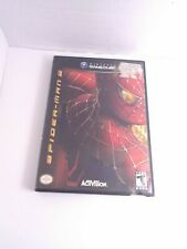 Spider-Man 2 (Nintendo GameCube, 2004) Game & Case Tested Working Fast Shipping!