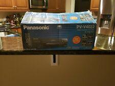 Panasonic Pv-V4022 Mono Vcr 4 Head Video Cassette Recorder Vhs Player