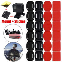 6Sets Flat Curved Adhesive Mount Helmet Accessories For Cameras Hero 3 3+ 4  Fj