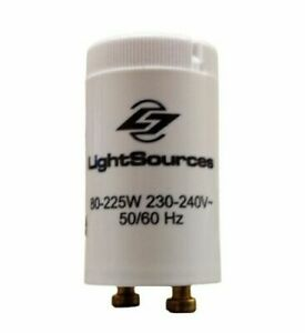 Tanning Bed Lamp Starter LIGHTSOURCES 80W to 225W - Replaces S12, K11 & BodyTone