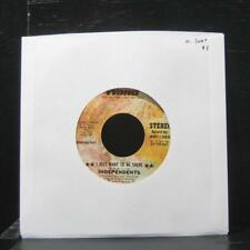 "Independents - I Just Want To Be There 7"" Mint- WND11249 Vinyl 45 Wand Promo"