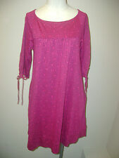 Juicy Couture Pink 3/4 Sleeve Dress NWT $118