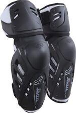 New Fox Racing Adult MX Offroad Motocross Titan Pro Elbow Guards Black ATV MTB
