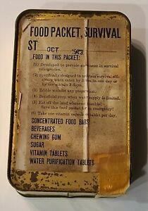 RARE US IAF-Issue Yom Kippur War '73 Food Packet Survival ST Ration (Unopen)