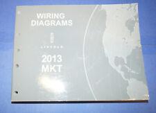 2013 Lincoln Mkt Oem Evtm Wiring Diagram Service Repair Manual Book