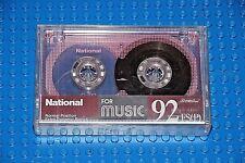 NATIONAL RT 92 FS(P)     BLANK CASSETTE TAPE       (1)    (SEALED)