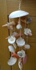 Real Seashell Windchimes Mobile Hanging Nautical Decoration Wind Chimes