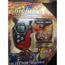Rare 2002 Digimon Digivice D Tector Scanner System Version 2 Transparent & Red