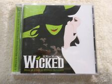 Wicked: A New Musical (Original Broadway Cast Recording) (CD, 2003) MINT!!!