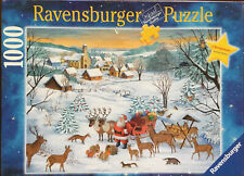 "Ravensburger Puzzle Christmas Limited Edition 1000 Piece Puzzle 20x27"" Complete"