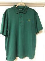 The Masters Masters Tech Polo Size L Green Golf Short Sleeve Augusta National