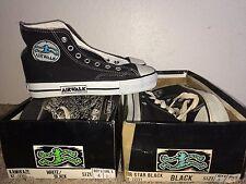 Lot 3 vintage AIRWALK Skateboard Canvas shoes size 4 5 1/2 converse Vision DC no