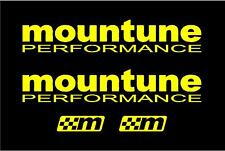 Mountune x4 Adesivo Decalcomania Set RS ST FOCUS FIESTA