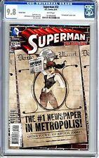"Superman   #32  Vol 3   CGC   9.8   NMMT   White pgs  ""DC Bombshell"" variant cov"