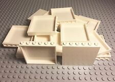 ☀️Lego New Bulk Lot X30 White Panel 1x6x5 Parts / Pieces For Large Project Walls