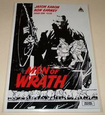 MEN OF WRATH # 1  Marvel Icon Comic  Jan 2015  NM  2nd PRINTING VARIANT COVER