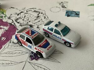 MATCHBOX VAUXHALL ASTRA GTE - Bundle 2 Cars Rally And Police Car