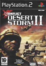 CONFLICT DESERT STORM II (2) for Playstation 2 PS2 - PAL