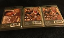 3~ScentSationals Wax Cubes/Melts~Variety