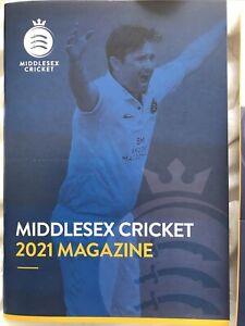 Middlesex Cricket 2021 Magazine