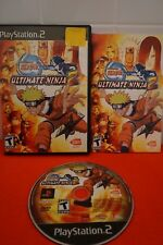 Naruto: Ultimate Ninja 2 PS2 (Sony PlayStation 2, 2007) Game Complete
