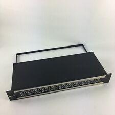 Bittree Patchbay 489A Series B48DC-NNNBH 2X24 1.5RU 1/4 INCH LONG-FRAME PATCHBAY