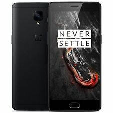"OnePlus 3T 128GB Midnight Black A3010 (FACTORY UNLOCKED) 5.5"" Full HD 6GB RAM"