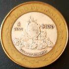 2007 MEXICO 100 PESOS SILVER BIMETALLIC Serie 2 ESTADO DE SINALOA Nice!