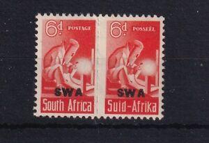SOUTH WEST AFRICA 1943-44 War Effort Bantam 6d Red-Orange Unit SG128 LMM