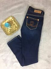 7 Sevens Skinny Jeans - Colorful Thick Stitch - Women's Size 28
