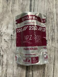 FUJICOLOR NPZ 800, 220 Format  1 Roll Professional Pack 2003-12 EXPIRED Sealed