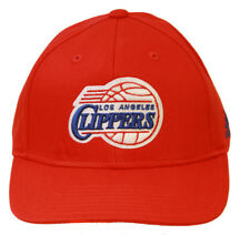 Los Angeles Clippers Snapback Adjustable Hat, Red + GT Sweat Wristband