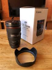 Canon EF 24-70mm f/2,8L II USM Objectif - Noir