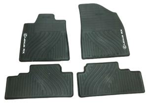 LEXUS RX350/RX450H 2010-2012 4PCS BLACK ALL WEATHER FLOOR MATS PT908-48102-02