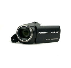 "Panasonic HC-V180 Full HD 2.7"" Display Camcorder w/ Battery No Charger"