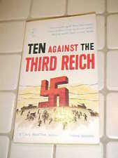 Ten Against the Third Reich Stan Smith PBO Belmont Books 1961 Hitler EXC/NM