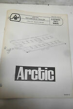 Arctic Cat Snowmobile Trailer Illustrated Parts Manual 4 Place Unit P/N 0185-121